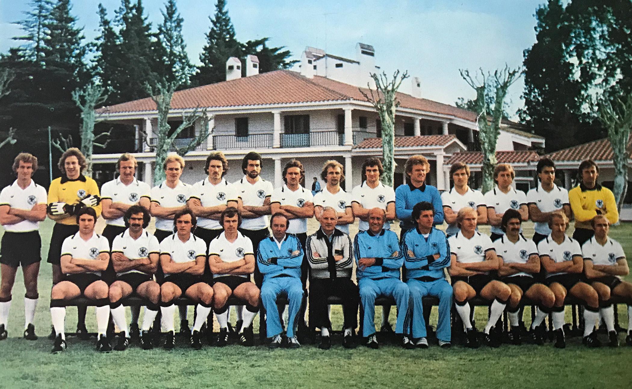WM-Kader 1978 in Argentinien