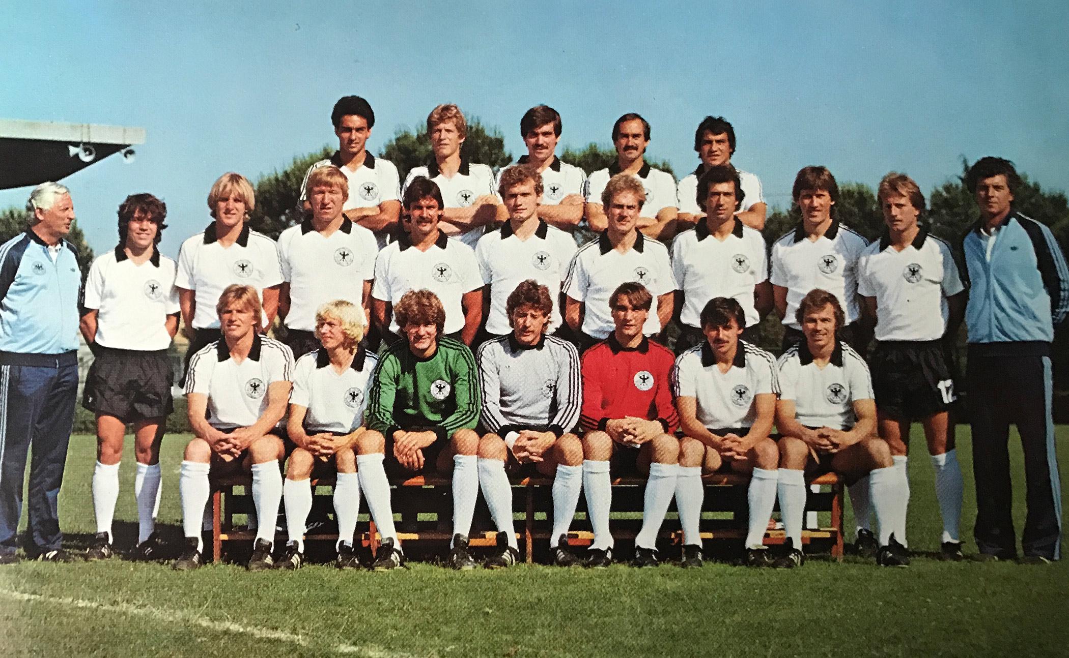 EM-Kader 1980 in Italien