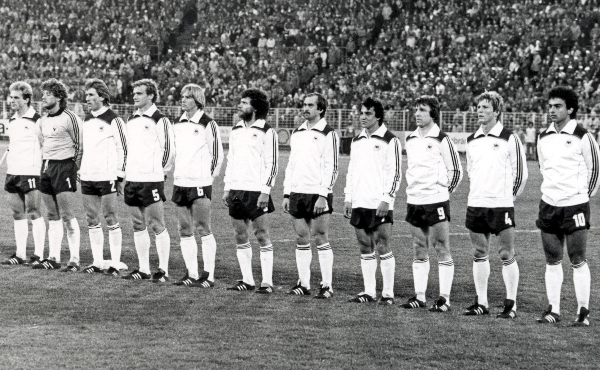 WM-Quali gegen Österreich 2-0  29.4.1981 in Hamburg