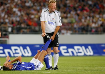Physio Hrubesch behandelt Collovati