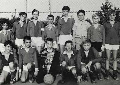 Bezirksmeister D-Jugend SV Rot  1967