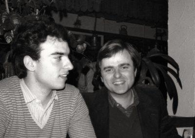"""Mein """"heimlicher"""" Manager und langjähriger Freund Arnim Kilgus - 1978"""