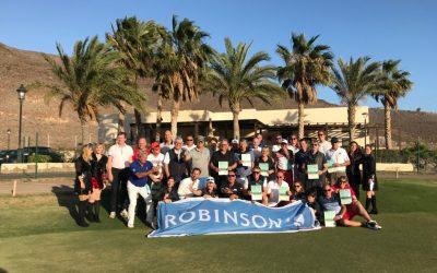 Robinson Golfturnier am 1.1.2018 auf Fuerteventura